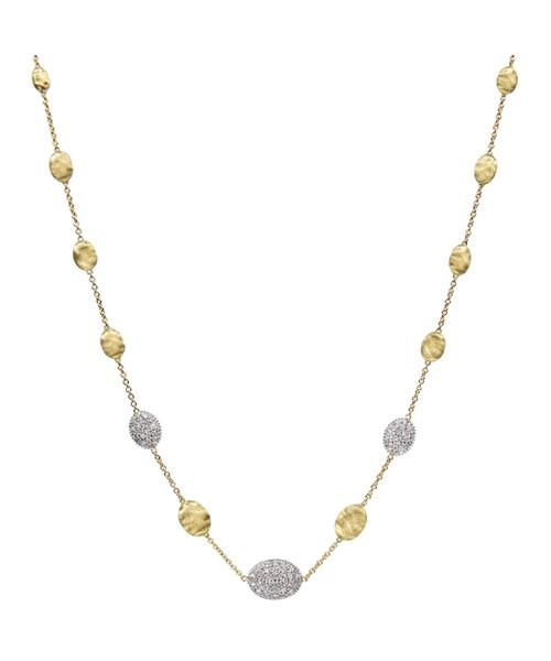 Marco Bicego Halskette Siviglia aus Gold 18 Karat & Diamanten  CB1730-B2 | UHREN01