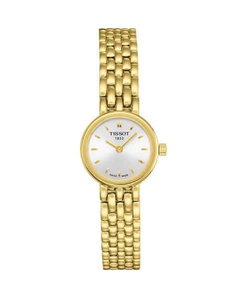 Tissot Lovely Gold Uhr Damen 19mm Quarz T058.009.33.031.00
