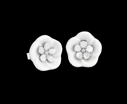Meissen Ohrringe 1 Blüte Royal Blossom MPJ50BL25700
