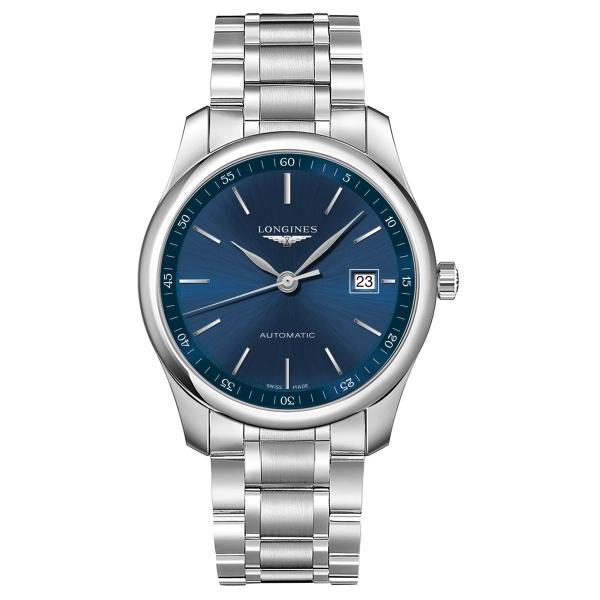Longines Master Collection Herrenuhr Automatik 40mm Blau Edelstahl-Armband L2.793.4.92.6