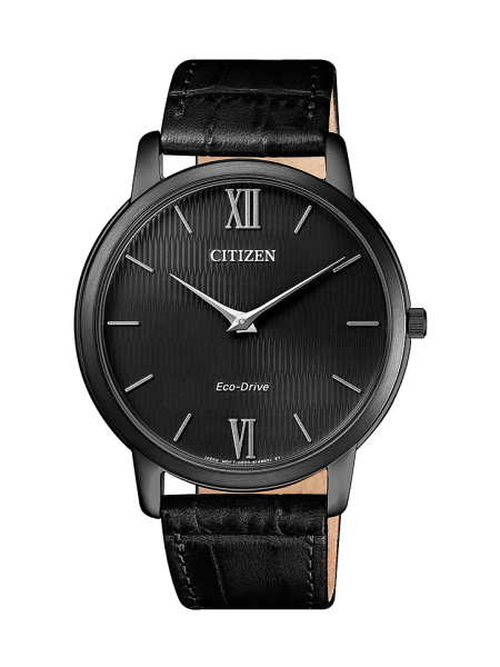 Citizen Eco-Drive Stiletto AR1135-10E Herrenuhr schwarz