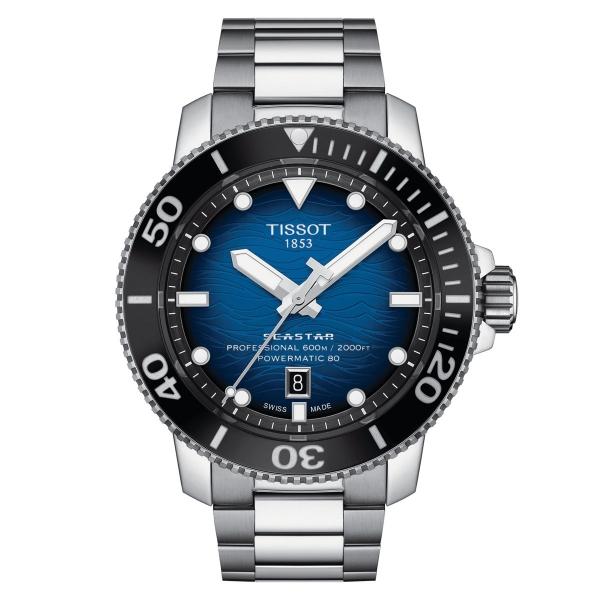 Tissot Seastar 2000 Professional Powermatic 80 Taucheruhr 46mm Blau T120.607.11.041.01