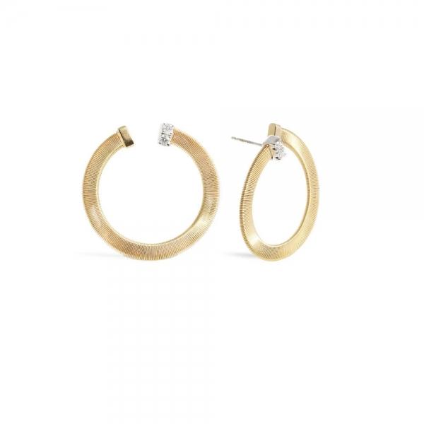 Marco Bicego Masai Ohrringe Gold mit Diamanten OG377-B-YW-M5