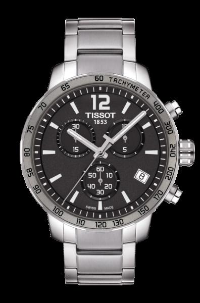 Tissot Quickster 42mm Herren Chronograph T095.417.11.067.00
