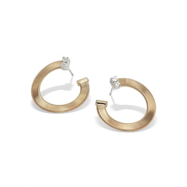 Marco Bicego Ohrringe Masai Gold & Diamanten OG376 B YW