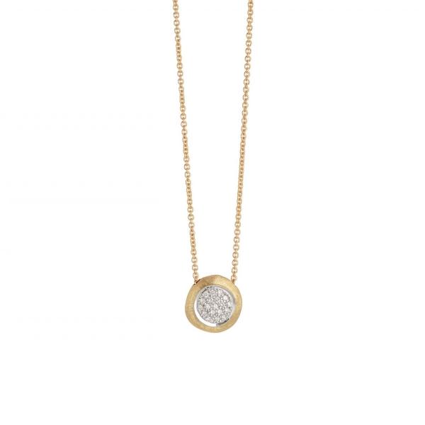 Marco Bicego Kette mit Diamanten Gold 18 Karat Jaipur Link CB1809 B YW