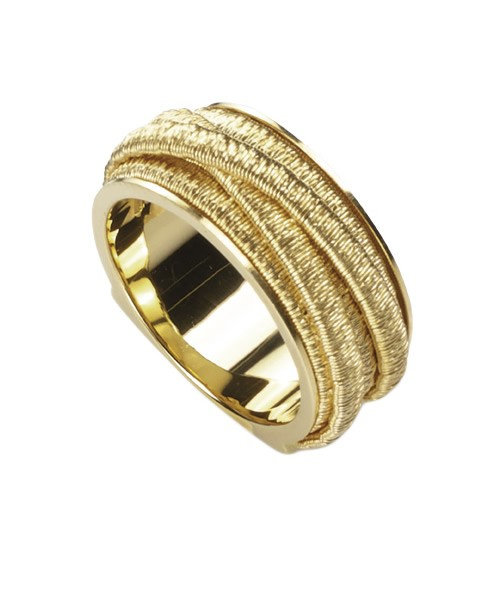 Marco Bicego Ring Cairo fünf Stränge aus Gold 18 Karat AG292 | UHREN01