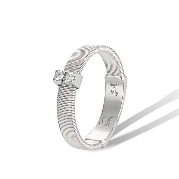 Marco Bicego Ring Masai Weißgold mit Diamanten AG343 B W