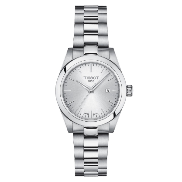 Tissot T-My Lady Silber Leder- & Edelstahl-Armband Quarz Damenuhr T132.010.11.031.00