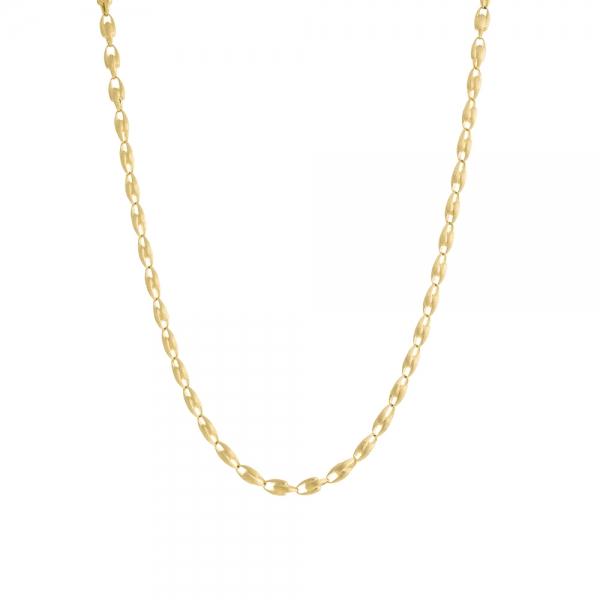 Marco Bicego Kette Lucia 750er Gold mit großen Gliedern 92 cm CB2362-Y-02