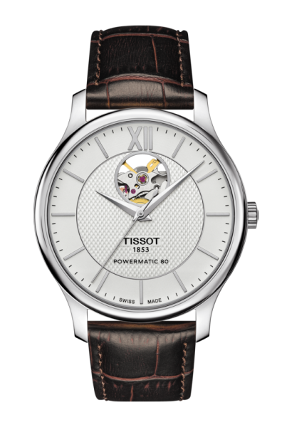 Tissot Tradition Powermatic 80 Open Heart (T063.907.16.038.00) Herren Automatikuhr