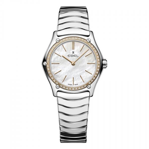 Ebel Classic Sport Lady 1216453A Damenuhr mit 48 Diamanten