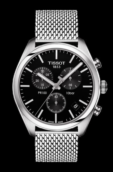 Tissot PR 100 Quarz Herren Chronograph (T101.417.11.051.01)