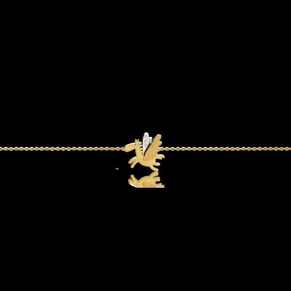 Luisa Rosas Armband Pegasus Gold Diamanten Caring Tales LRCT152