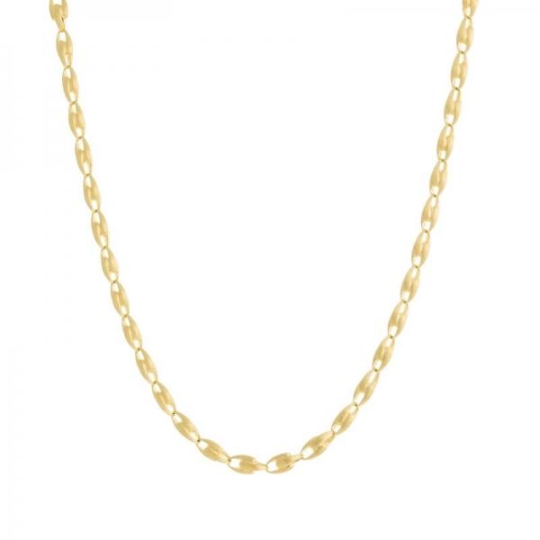 Marco Bicego Halskette Lucia Collier mit großen Glieder aus Gold 18k CB2361-Y-02 | UHREN01