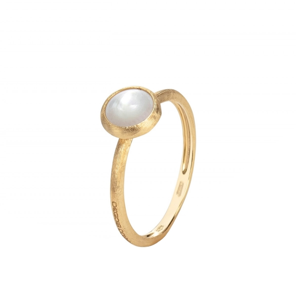 Marco Bicego Jaipur Color Ring Gold mit Perle AB471 MPW Y