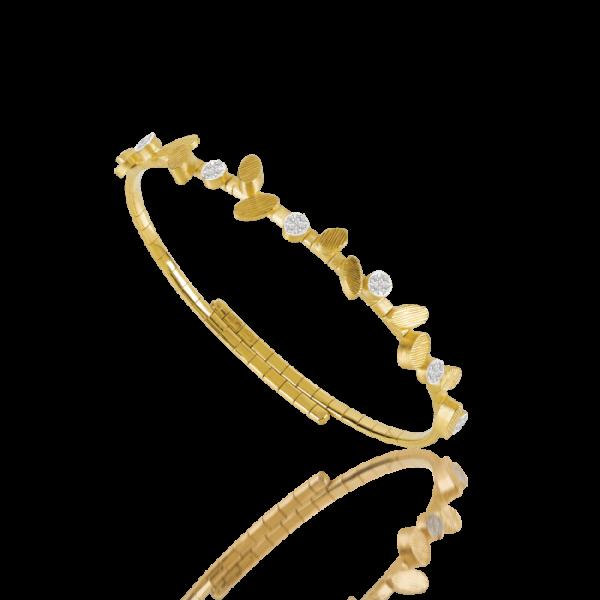 Luisa Rosas Armspange Gold Diamanten BE S LRBE136