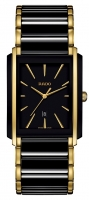Rado Integral Herrenuhr Bicolor Schwarz Gold R20204162 | Sale | UHREN01