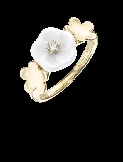 Meissen Ring 3 Blüten Royal Blossom MPJ10BL38600