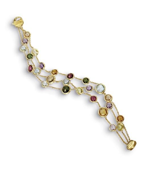 Marco Bicego Jaipur Armband mit Edelsteinen Gold 18 Karat BB1306-MIX01