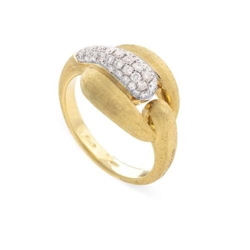 Marco Bicego Ringe Lucia Diamantring aus Gold 18k mit Brillanten AB599-YW-Q6 | UHREN01