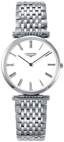 Longines La Grande Classique 33m Herren-Uhr silber weiß Edelstahl-Armband L4.709.4.11.6 zum günstigen Preis online kaufen | UHREN01