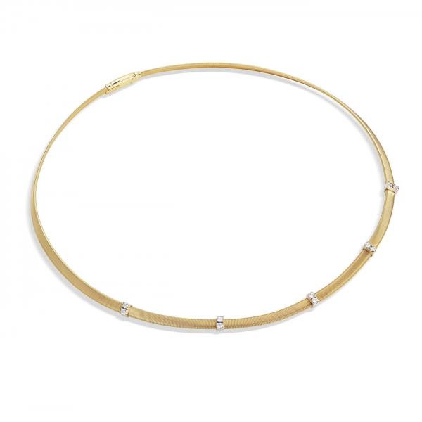 Marco Bicego Kette Masai Gold & Diamanten CG731 B3 YW