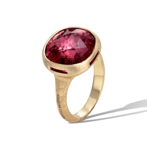 Marco Bicego Ring mit Pink Turmalin Edelstein Gold 18 Karat Jaipur Color AB617 TR01 Y