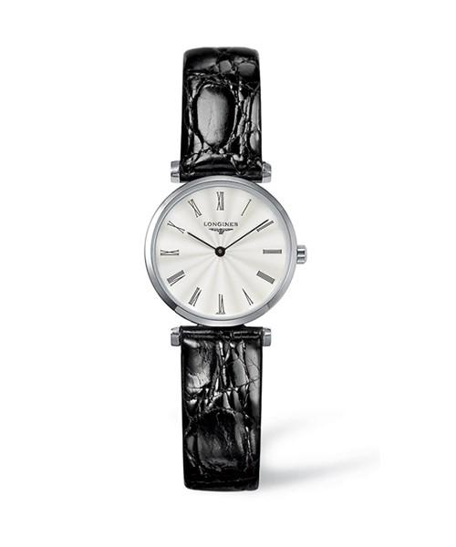 Longines La Grande Classique Damenuhr 24mm mit silbernem Zifferblat L4.209.4.71.2