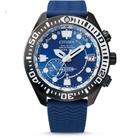 CITIZEN SATELLITE WAVE GPS Diver 200m blau Taucheruhr CC5006-06L