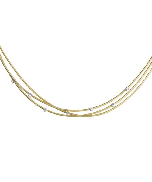 Marco Bicego Goa Kette in Gold 18 Karat mit Diamanten CG617-B | UHREN01