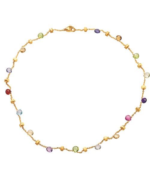 Marco Bicego Halskette Paradise mit Edelsteinen Gold 18 Karat CB765-MIX01 | UHREN01