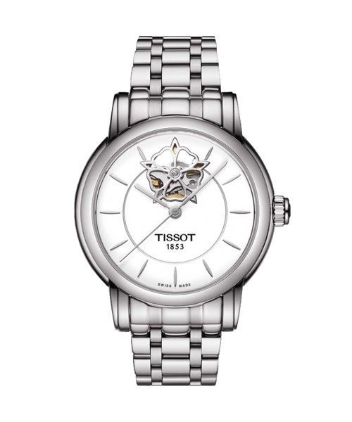 Tissot Lady Heart Powermatic 80 Automatik Damenuhr mit Diamanten T050.207.11.011.04