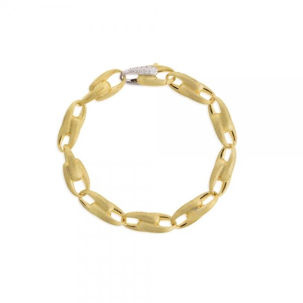 Marco Bicego Armband Lucia Armkette mit breiten Gliedern aus Gold 18k und Diamanten BB2374-B   UHREN01