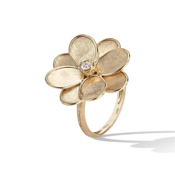 Marco Bicego Ring Gold & Diamanten Petali AB605 B Y
