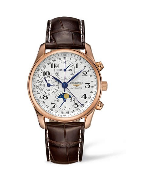 Longines Master Collection L2.673.8.78.3 Chronograph Herrenuhr