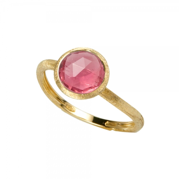 Marco Bicego Jaipur Color Ring Gold mit rosa Turmalin Edelstein AB471 TR01 Y