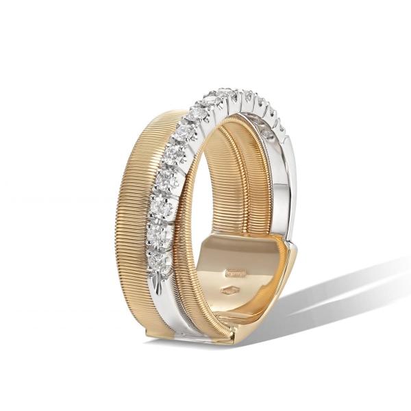 Marco Bicego Ring Masai Gold mit Diamanten AG329 B1 YW
