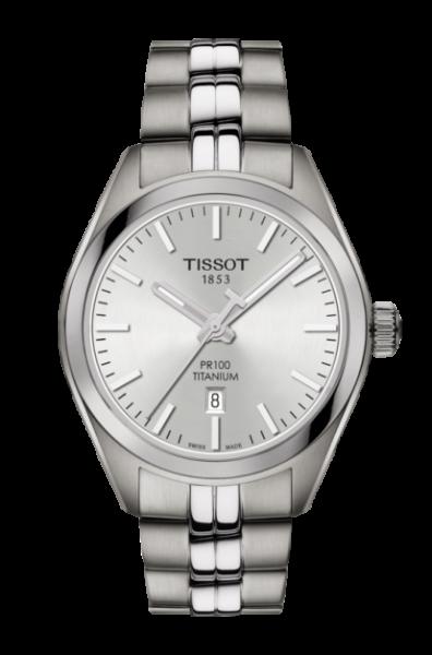 Tissot PR 100 Titanium Quartz Lady (T101.210.44.031.00) Damenuhr