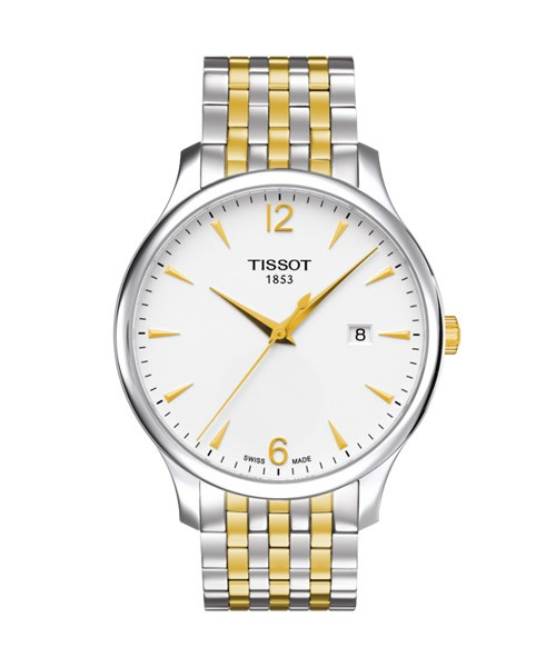 Tissot Tradition Bicolor Herrenuhr 42mm T063.610.22.037.00