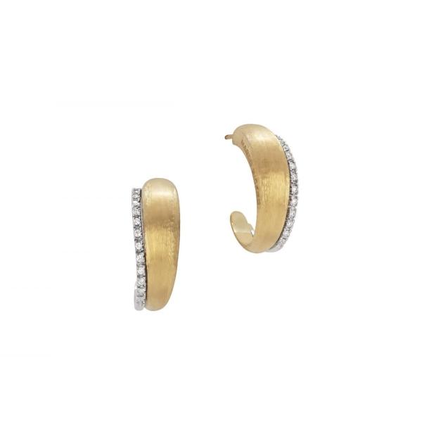 Marco Bicego Ohrringe Lucia Ohrstecker Medium Gold & Diamanten OB1669 B YW