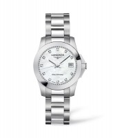 Longines Conquest Lady L3.376.4.87.6 Quarz Damenuhr mit Diamantindex