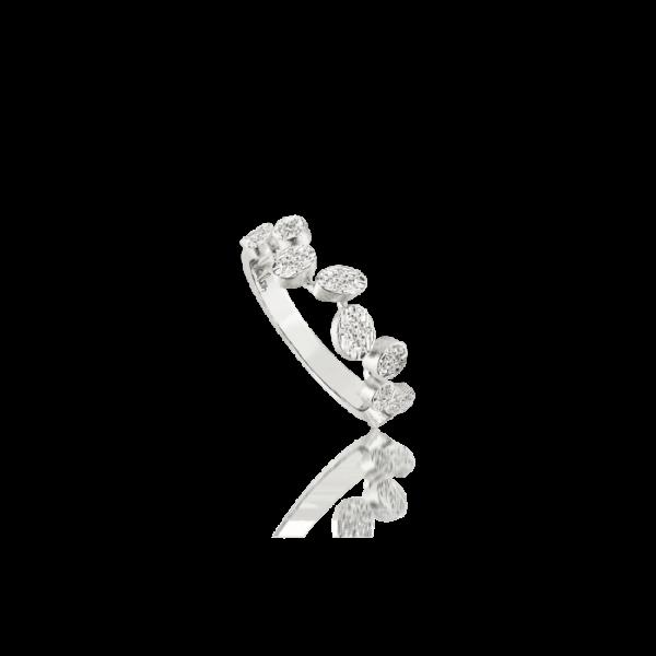 Luisa Rosas Ring Weißgold mit Diamanten S BE LRBE079