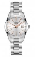 Longines Conquest Classic Lady Damenuhr Zifferblatt silber 34mm Edelstahl-Armband L2.386.4.72.6 zum günstigen Preis online kaufen   UHREN01