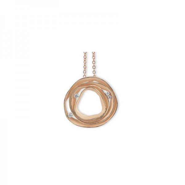 Annamaria Cammilli DUNE Damen Halskette 18 Karat Gold GPE0857J