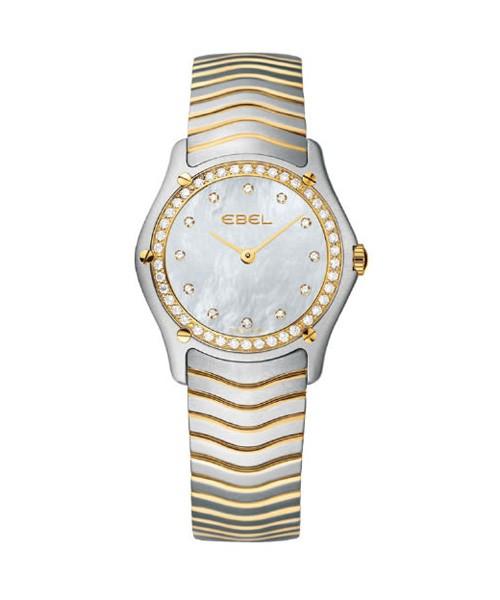 Ebel Classic Lady Damenuhr mit Diamanten Perlmutt-Zifferblatt bicolor 1215271 zum günstigen Preis kaufen | UHREN01