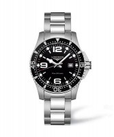 Longines HydroConquest 39mm Herren Quarzuhr L3.730.4.56.6