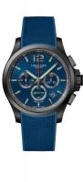 Longines Conquest VHP 44mm blau Herren Chronograph Kautschuk-Armband L3.727.2.96.9 zum günstigen Preis online kaufen | UHREN01