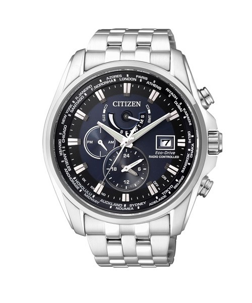 Citizen Elegant Funk Herren Chronograph mit Eco-Drive AT9030-55L
