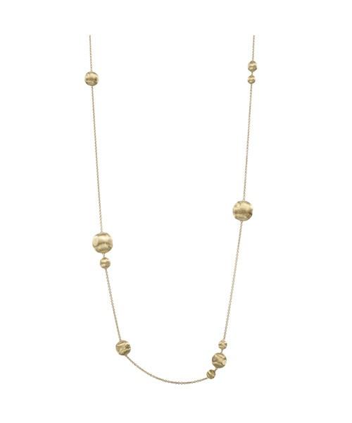 Marco Bicego Halskette Africa Kette mit Kugeln aus Gold 18 Karat CB1419  | UHREN01